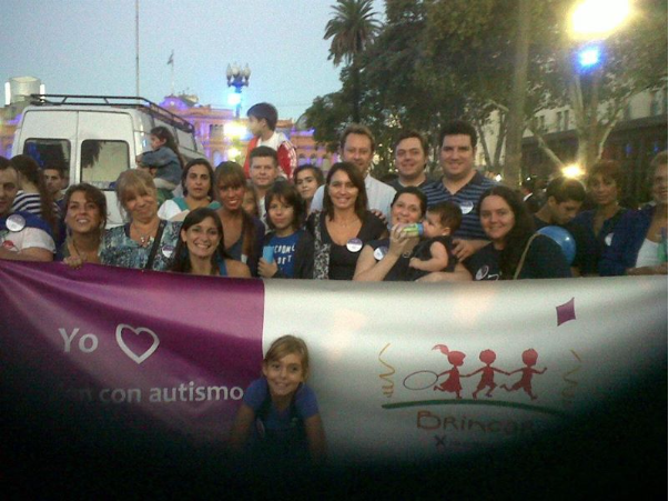 Participación en Plaza de mayo como Fundación Brincar