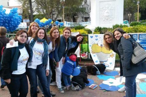 Día del autismo 2014 Plaza de Mayo