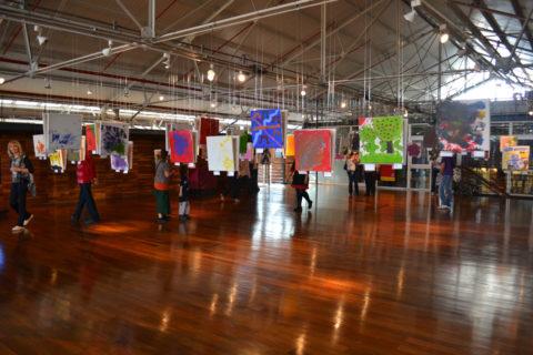 Exposición de Cierre Artes Visuales 2013 en CMD