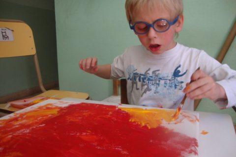 Primer taller de arte de la fundación 2010