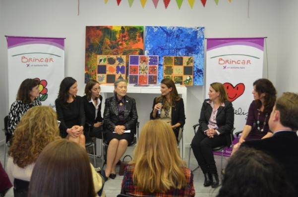 Visita de Ban Ki-moon, ONU –  Juliana Awada, Primera Dama de R. Argentina y Carolina Stanley, Ministra de Desarrollo Social.