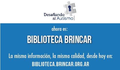 Biblioteca Desafiando al autismo se integró a Fundación Brincar
