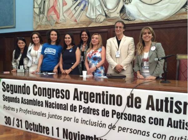 Participación en el Congreso argentino de autismo
