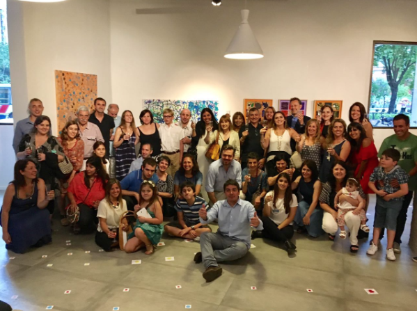 """Muestra """"Recorridos"""" del Taller de Artes visuales en Espacio Lezama"""