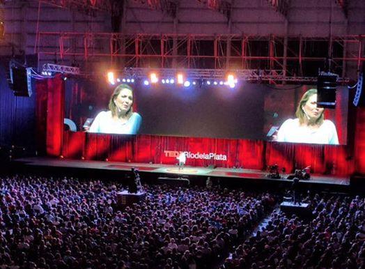 Carina Morillo participó como speaker TEDx Río de la plata